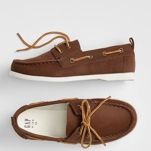 ✨HP🌟Gap Kids Faux Leather Boat Shoes